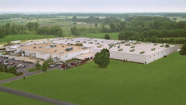 Plant 2 in Cheraw, South Carolina, expands to accommodate new product lines.