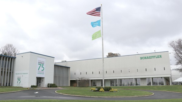 Schaeffler celebrates 75 years in Danbury.