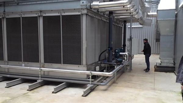 Cooling condenser